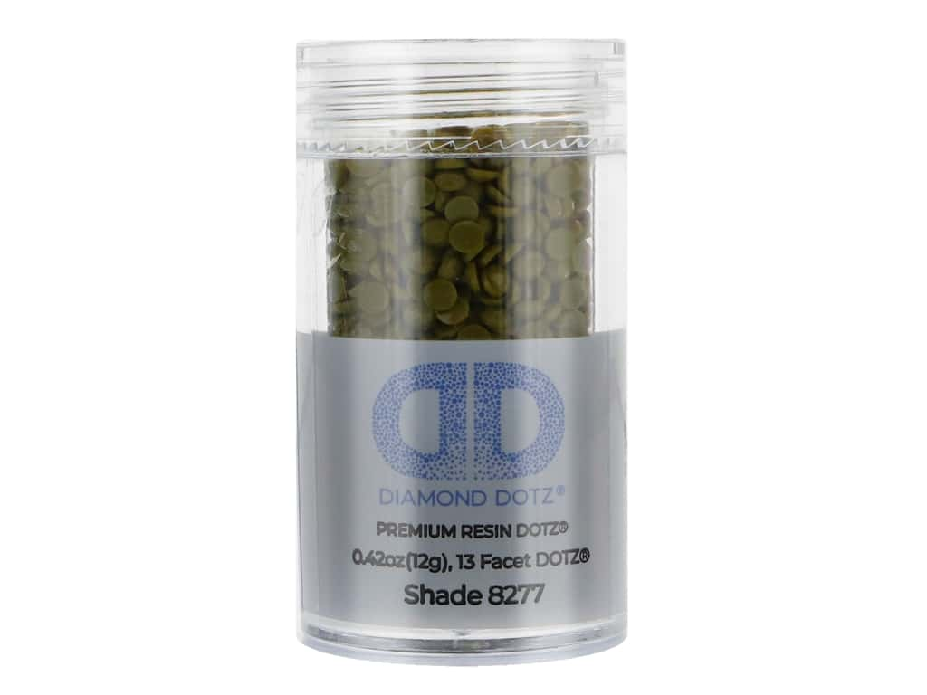 Diamond Dotz Freestyle Gems 0.43 oz. #8277 Dark May Green