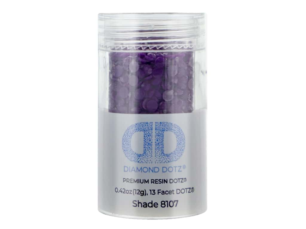 Diamond Dotz Freestyle Gems 2.8 mm 12 g Royal Purple (4 jars)