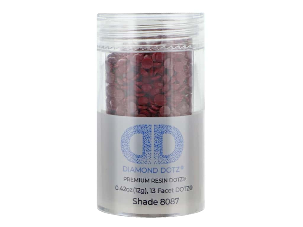 Diamond Dotz Freestyle Gems 0.43 oz. #8087 Garnet (4 jars)