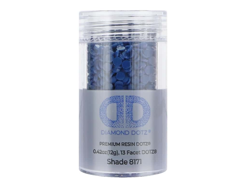 Diamond Dotz Freestyle Gems 2.8 mm 12 g Sapphire (4 jars)