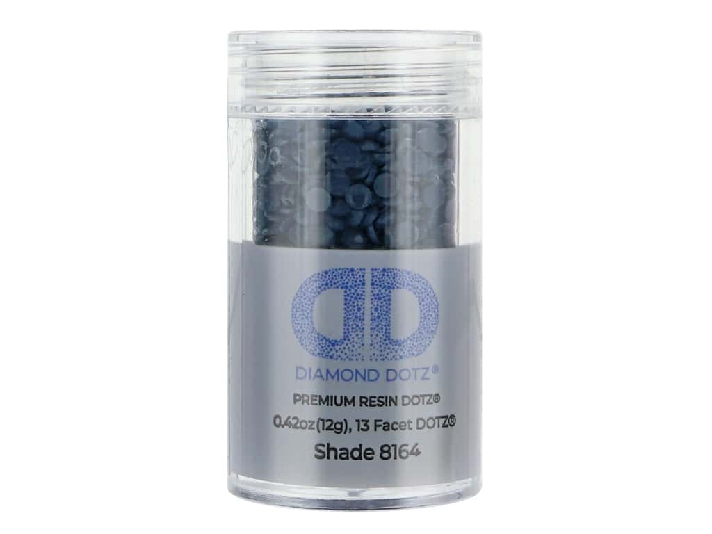 Diamond Dotz Freestyle Gems 0.43 oz. #8164 Midnight Teal