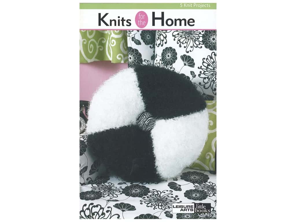 Leisure Arts Knits For The Home Book