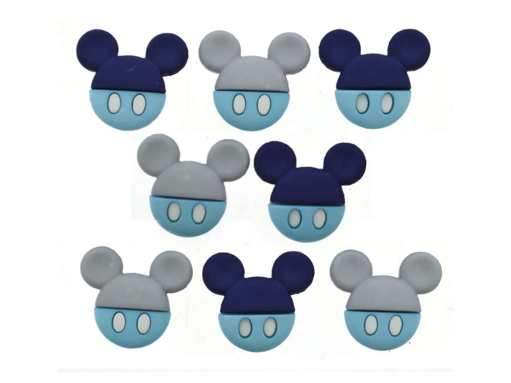 Jesse James Embellishments Disney Baby Mickey