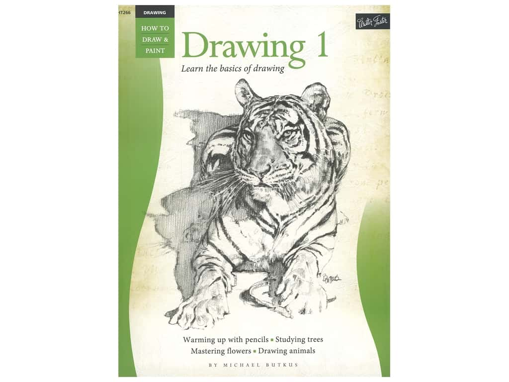 Walter Foster How to Draw & Paint Drawing 1 Book