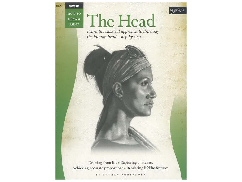 Walter Foster How to Draw & Paint Drawing The Head Book