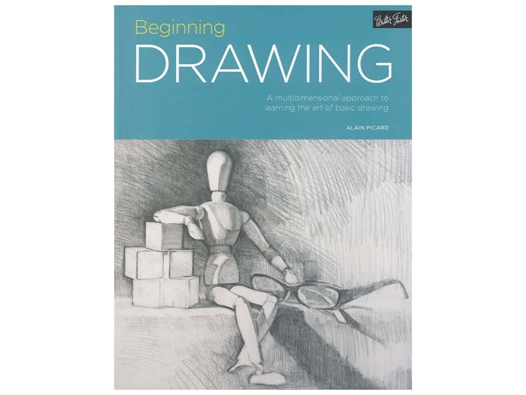 Walter Foster Beginning Drawing Book