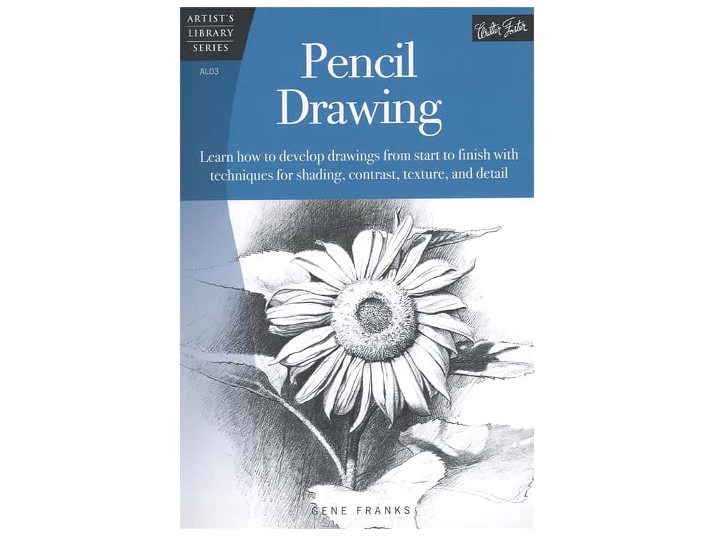 Walter Foster Artist's Library Series Pencil Drawing Book