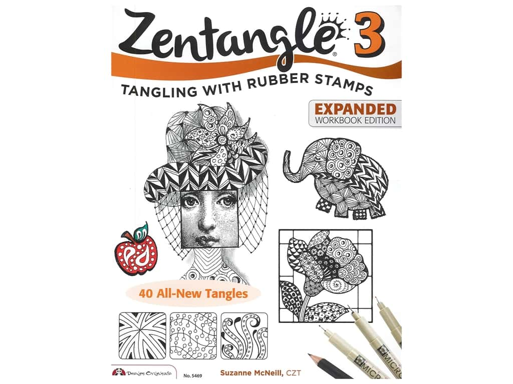 Design Originals Zentangle 3 Expanded Workbook Edition