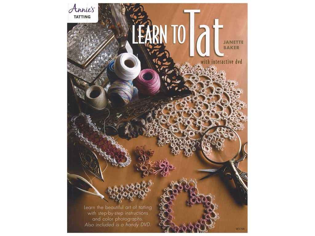 Annie's Learn To Tat DVD & Book