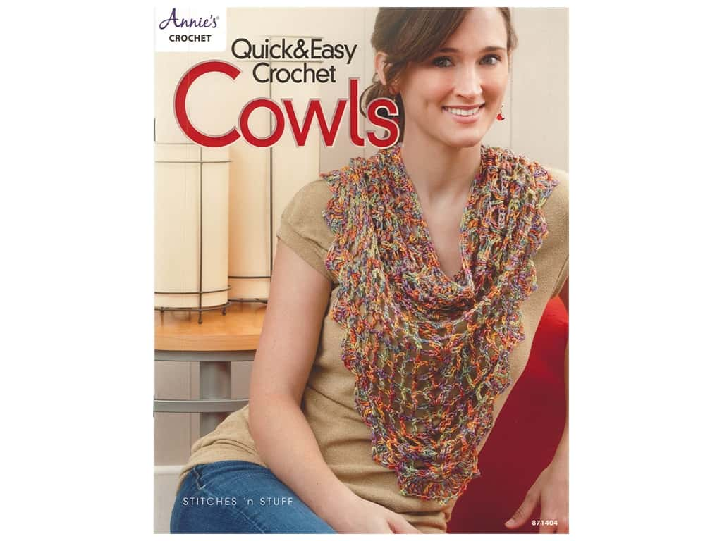 Annie's Crochet Quick & Easy Crochet Cowls Book