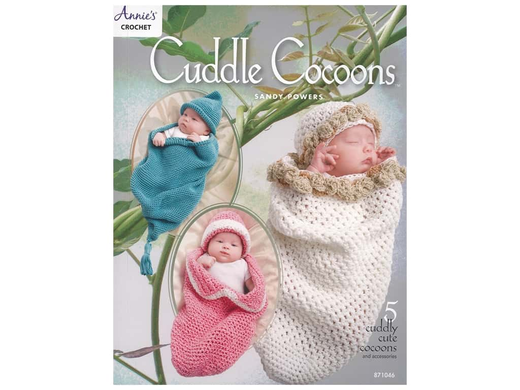 Annie's Crochet Cuddle Cocoons Book
