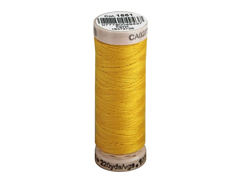 Gutermann Natural Cotton Sewing Thread 60 wt. 273 yd. #1661 Light Topaz