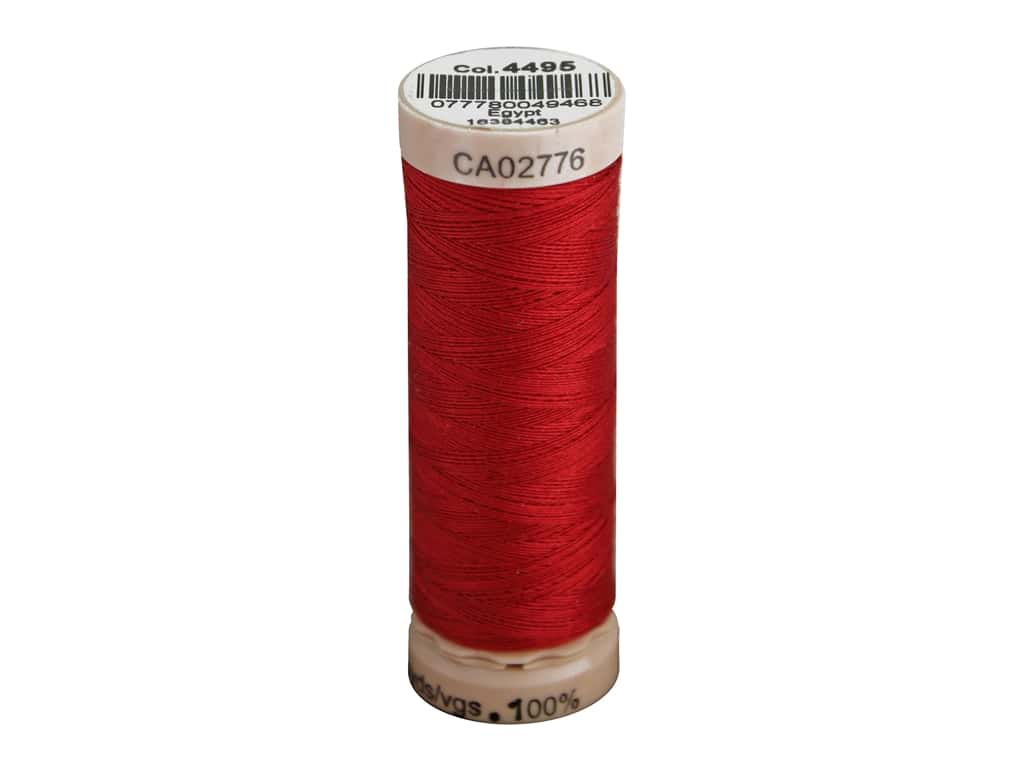 Gutermann Natural Cotton Sewing Thread 60 wt. 273 yd. #4495 Bright Red