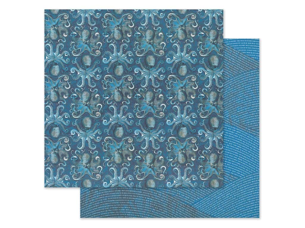 Graphic 45 Collection Ocean Blue Paper 12 in. x 12 in. Kauai (25 pieces)