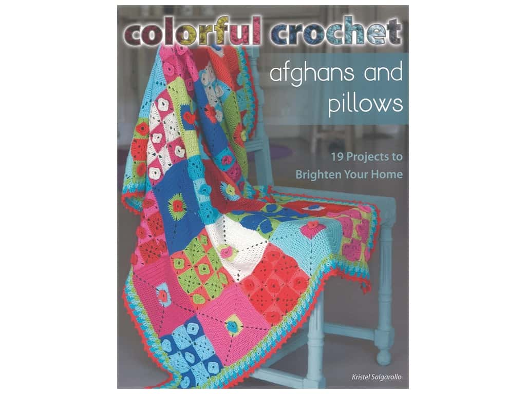 Stackpole Colorful Crochet Afghans & Pillows Book