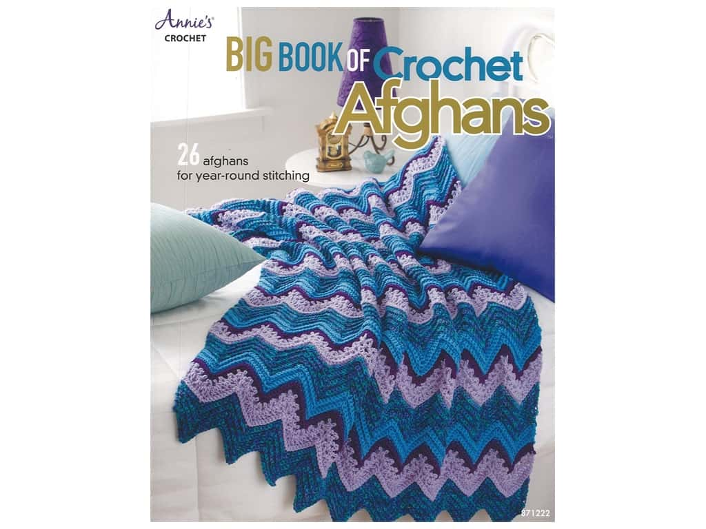 Annie's Big Book of Crochet Afghans Book