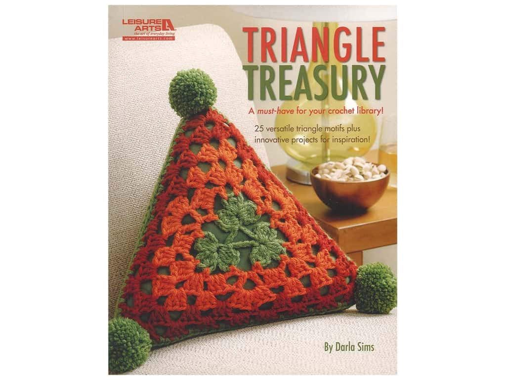 Leisure Arts Triangle Treasury Crochet Book