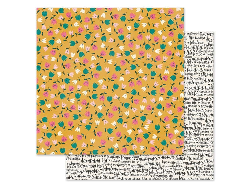 Simple Stories Collection I Am Paper 12 in. x 12 in. Amazing (25 pieces)