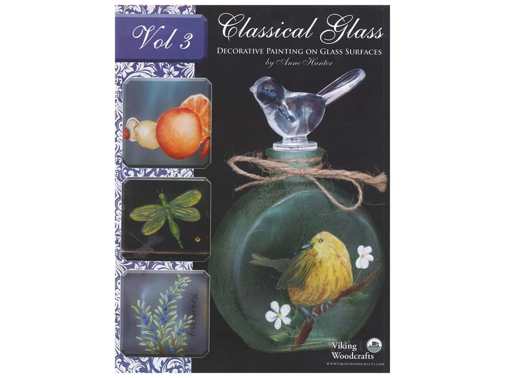 Viking Woodcrafts Classical Glass Volume 3 Book