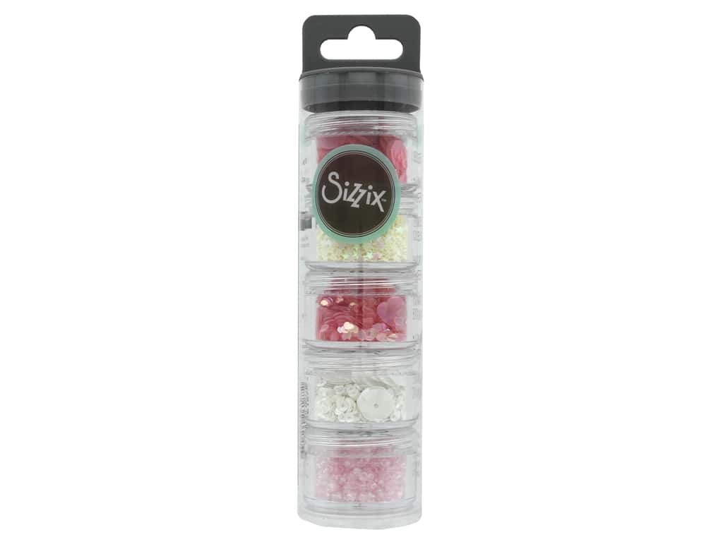 Sizzix Making Essential Sequins & Beads Ballet Slipper 5 pk