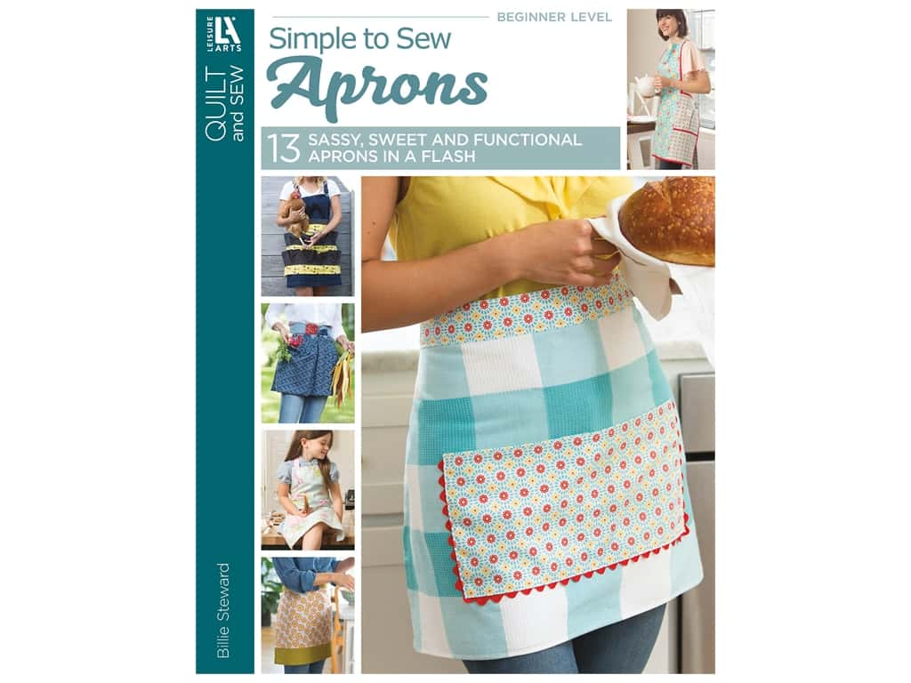 Leisure Arts Simple Sew Aprons Book