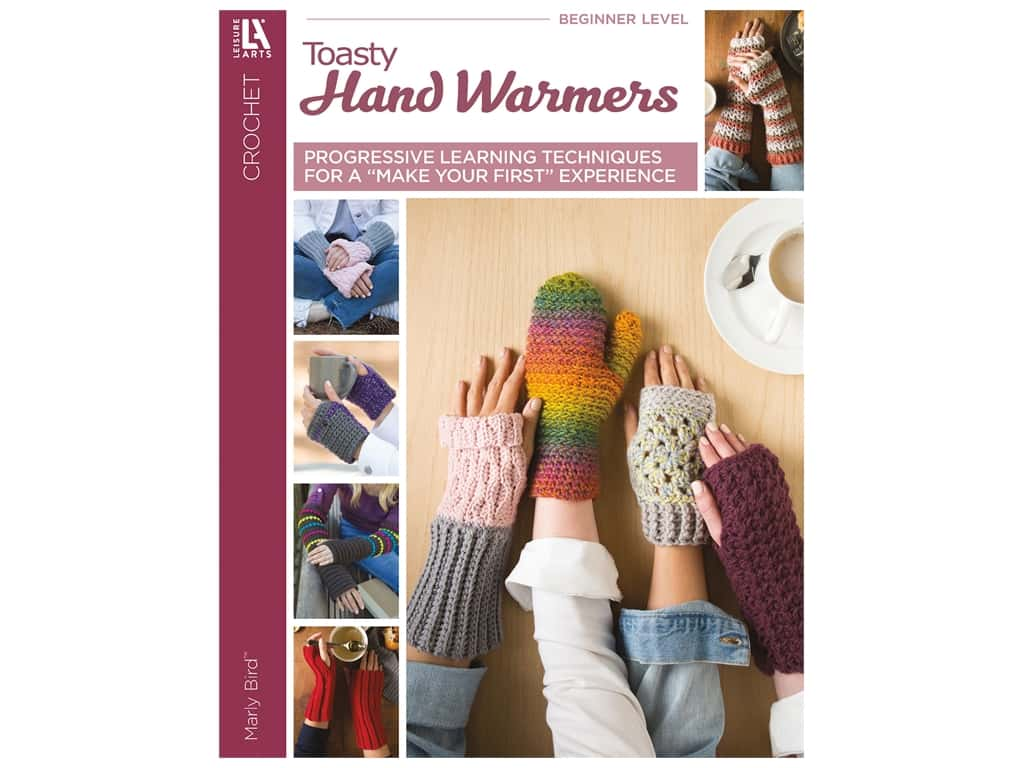 Leisure Arts Toasty Hand Warmers Crochet Book