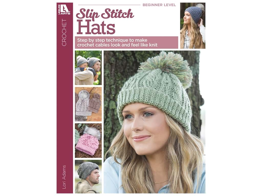 Leisure Arts Alaskan Hats Using Slip Stitch Crochet Book