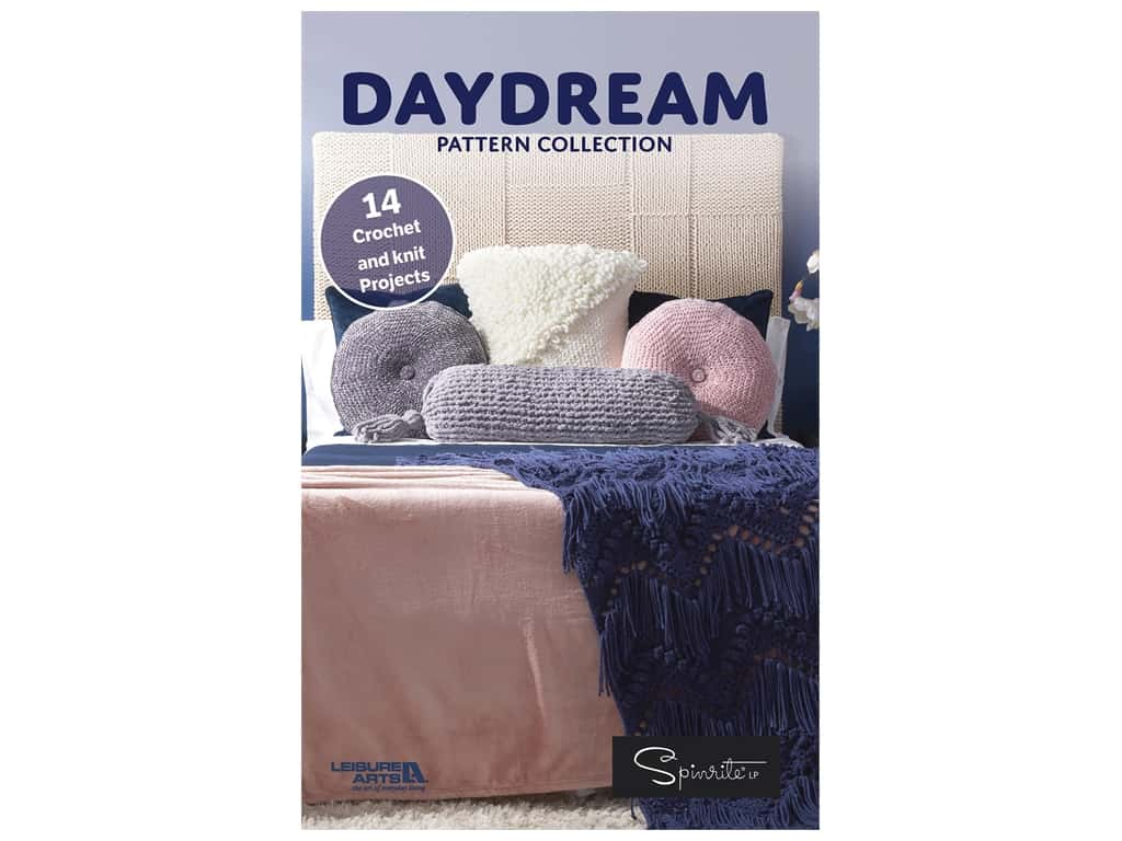 Leisure Arts Daydream Pattern Collection Knit & Crochet Book