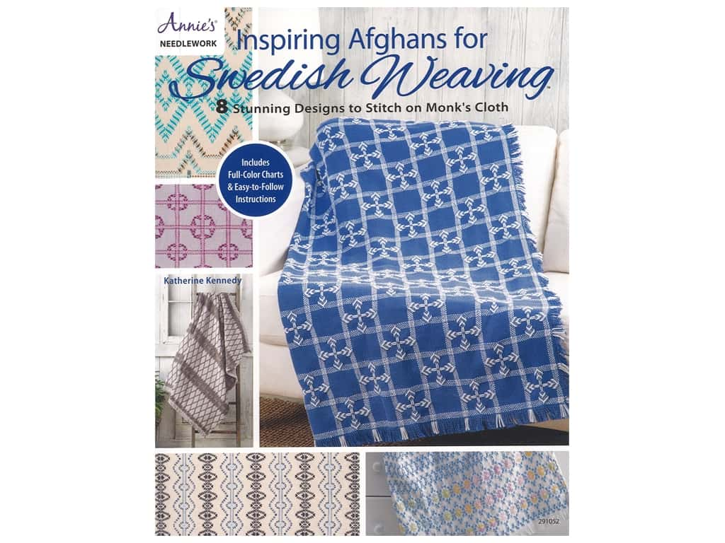 Annie's Inspiring Afghans For Swedish Weaving Book