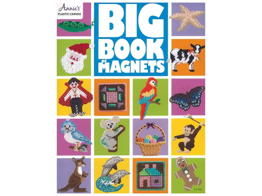 Annie's Big Book Of Magnets Plastic Canvas