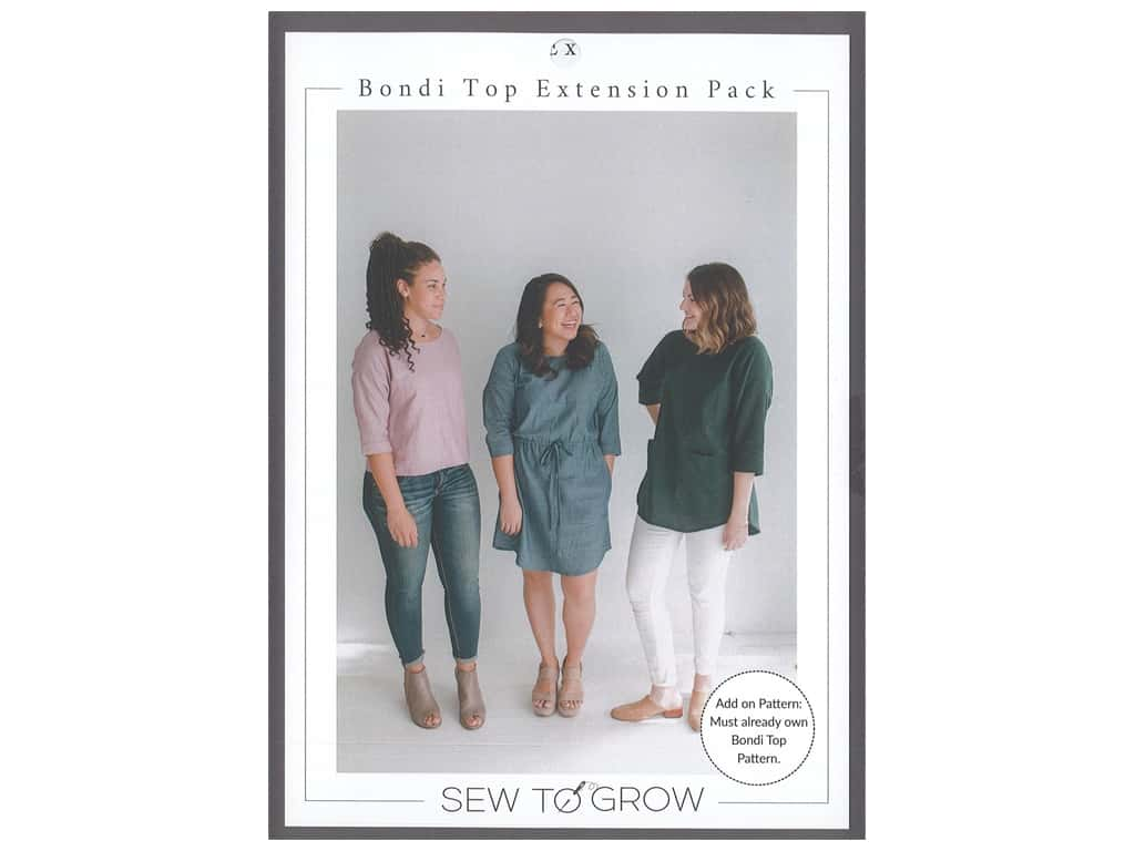 Sew To Grow Bondi Top Extension Pack
