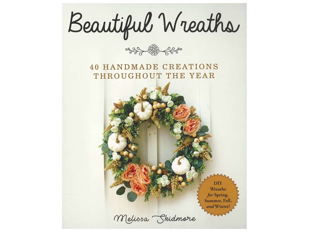Skyhorse Publishing Beautiful Wreaths Book
