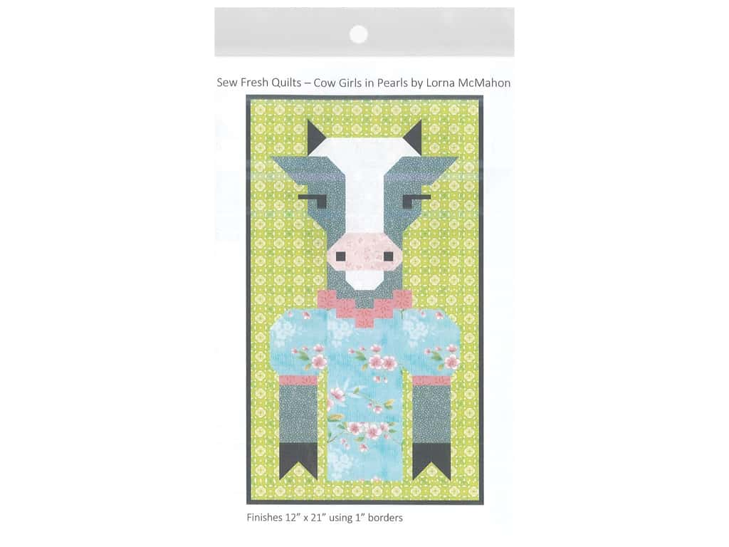 Sew Fresh Quilts Cow Girls In Pearls Pattern