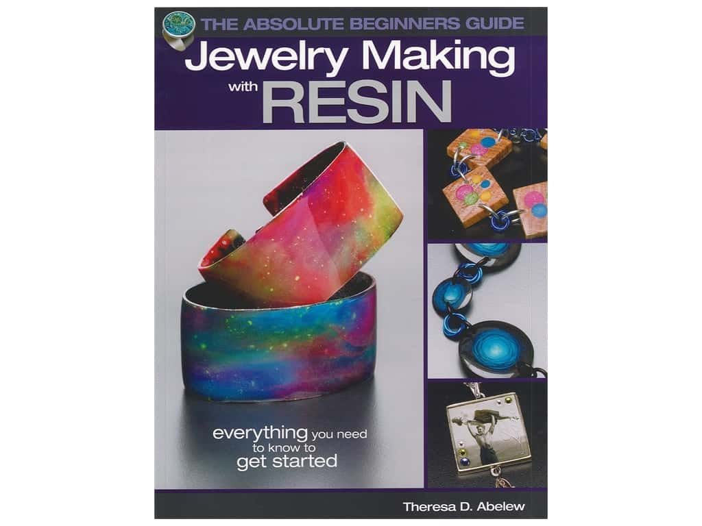 Kalmach Books Jewelry Making With Resin Book