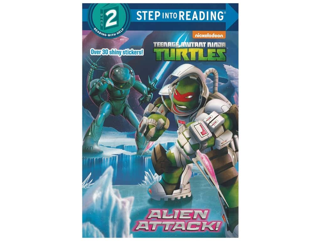Random House Step Into Reading Step 2 Alien Attack Book