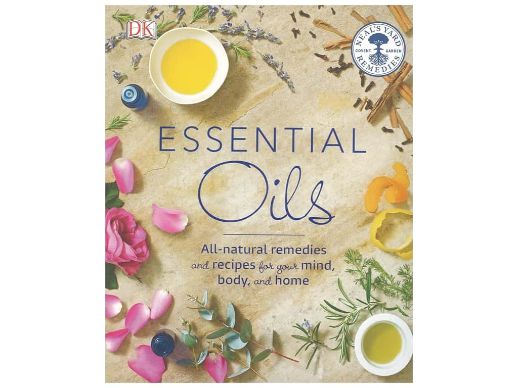 DK Publications Essential Oils Book