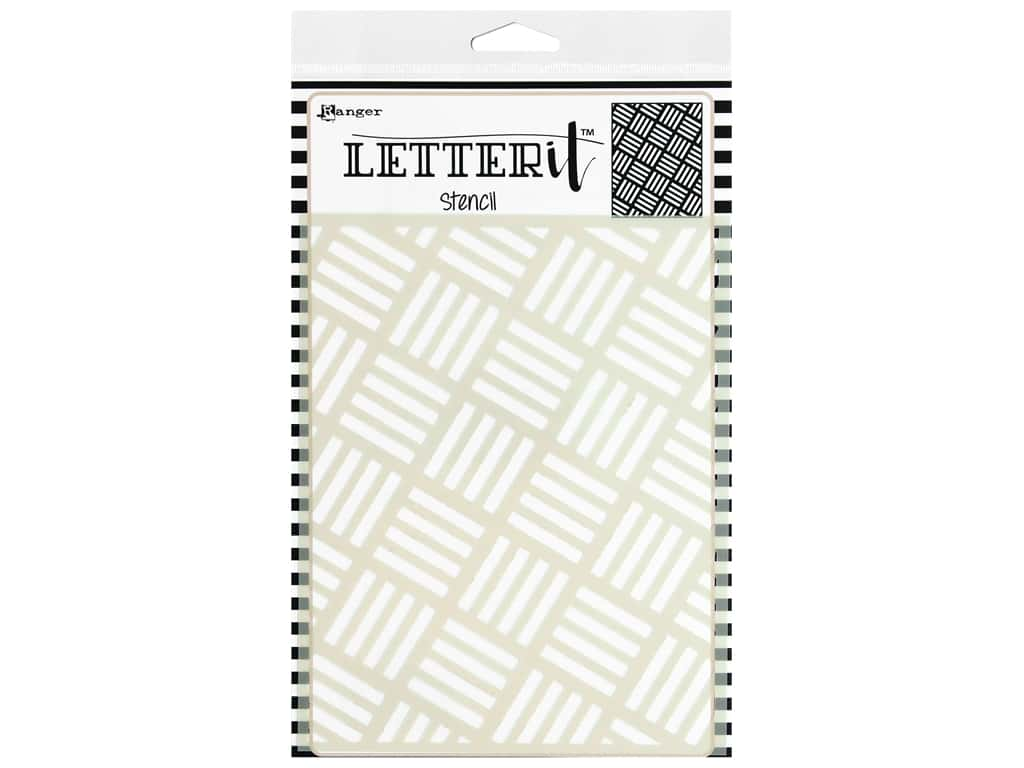Ranger Letter It Stencil Rocking Stripes