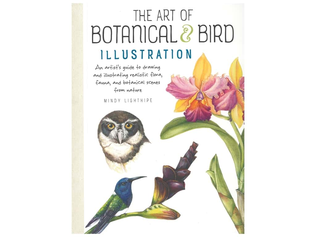 Walter Foster Botanical & Bird Illustrations Book