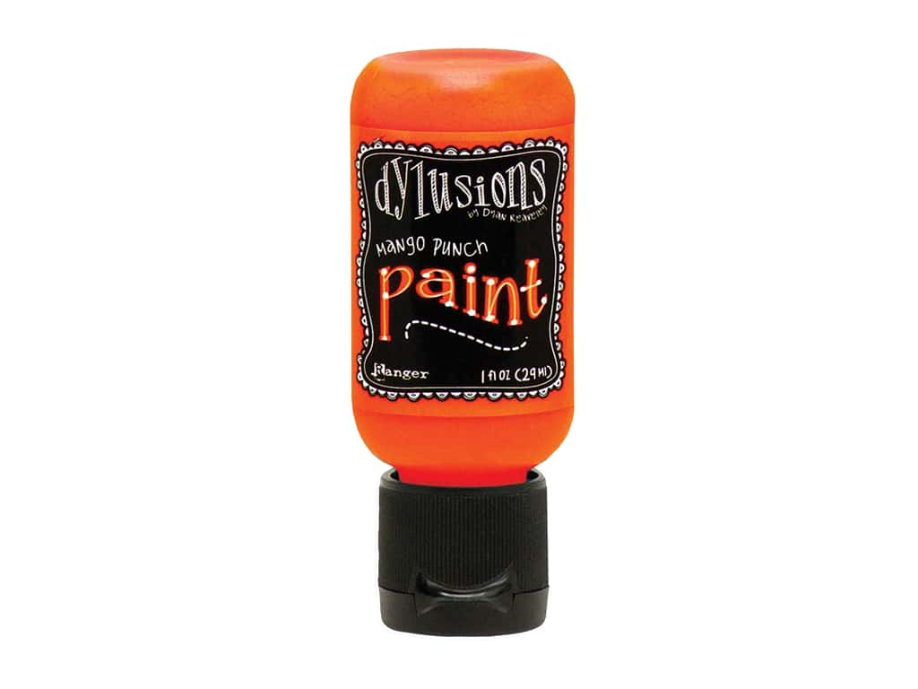 Ranger Dylusions Paint 1 oz. Mango Punch