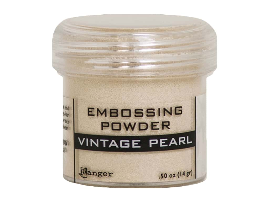 Ranger Embossing Powder .50 oz Pearl Vintage