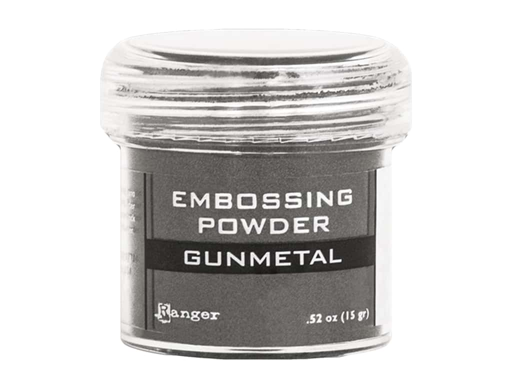 Ranger Embossing Powder .52 oz Metallic Gunmetal