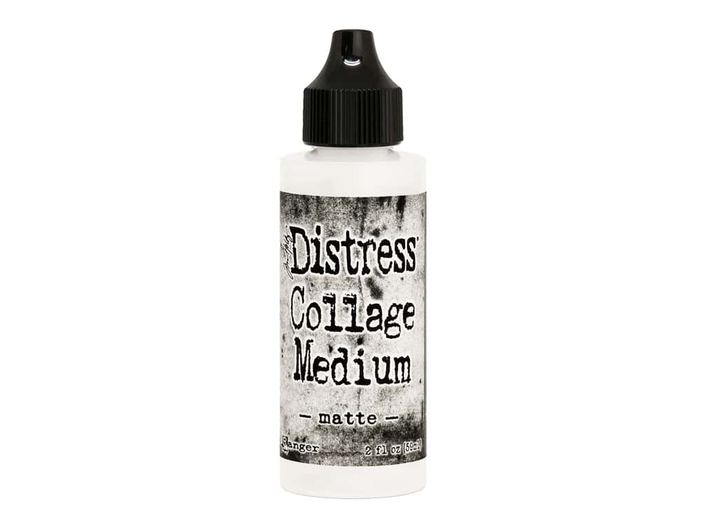 Ranger Tim Holtz Distress Collage Medium Matte 2 oz