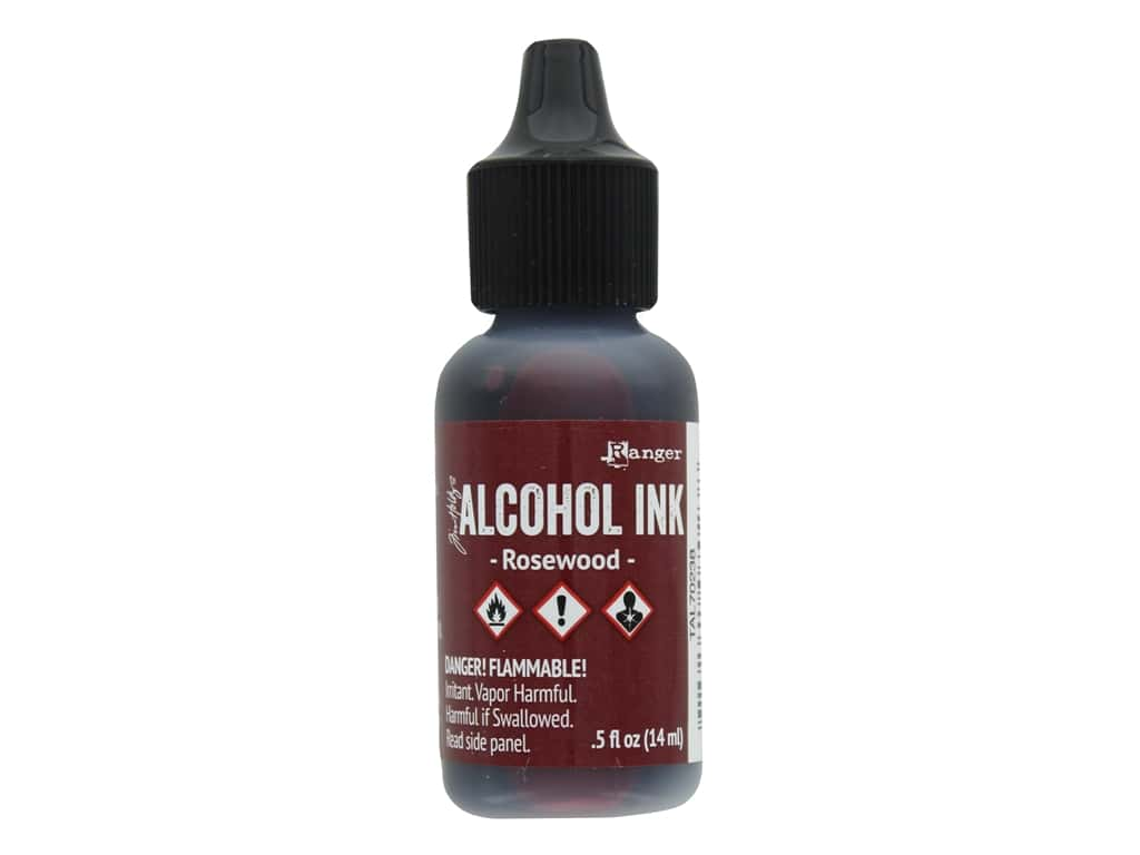 Tim Holtz Alcohol Ink by Ranger .5 oz. Rosewood