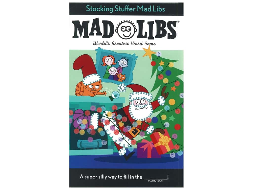 Price Stern Sloan Stocking Stuffer Mad Libs Book