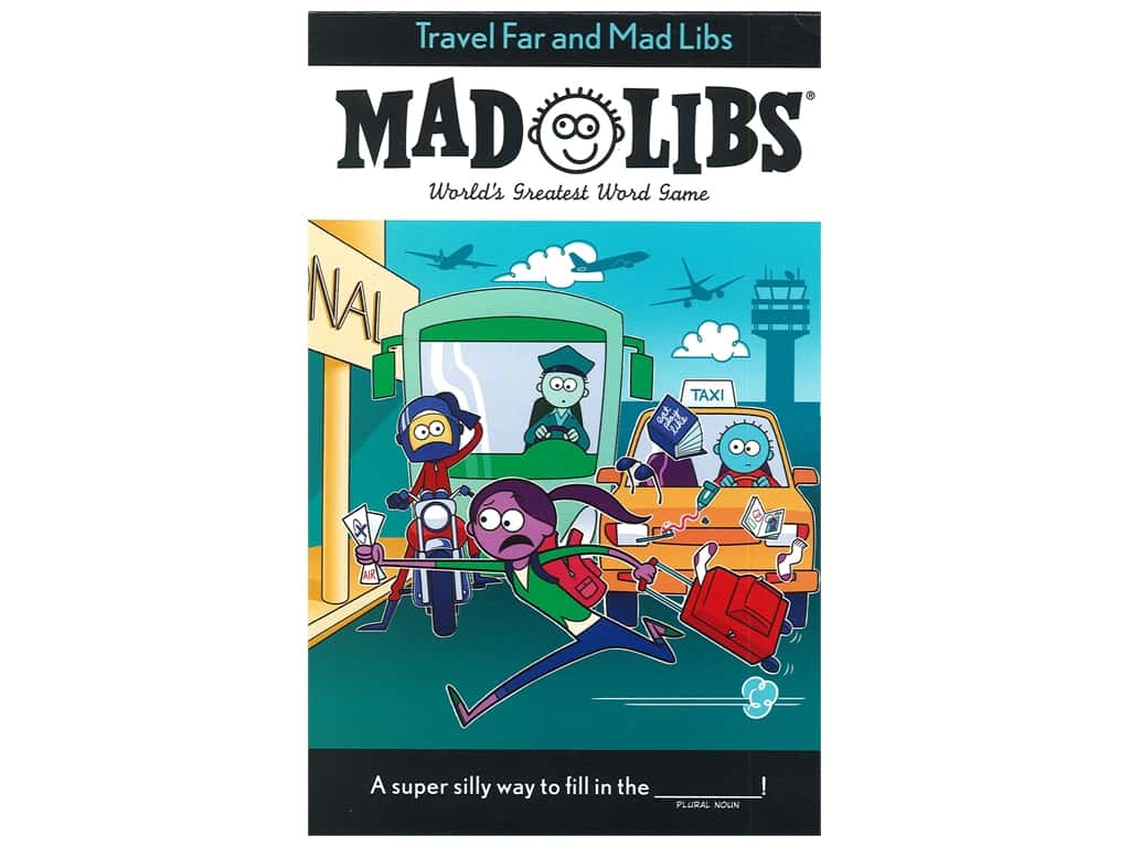 Price Stern Sloan Travel Far and Mad Libs Book