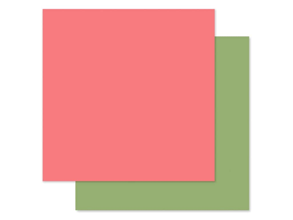 Echo Park Baby Girl Collection Paper 12 in. x 12 in. Pink/Green (25 pieces)