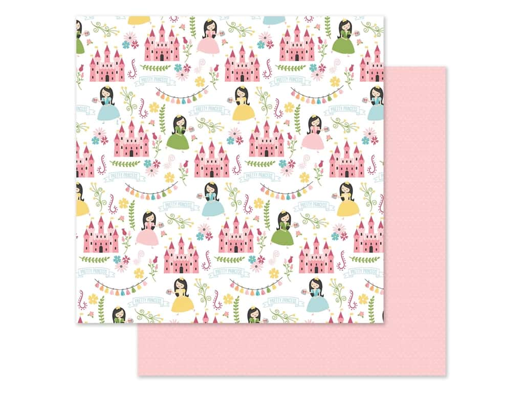 Echo Park 12 x 12 in. Paper All Girl - Pretty Princess (25 pieces)