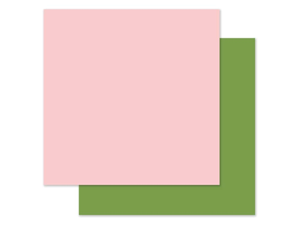 Echo Park 12 x 12 in. Paper All Girl - Light Pink/Green (25 pieces)