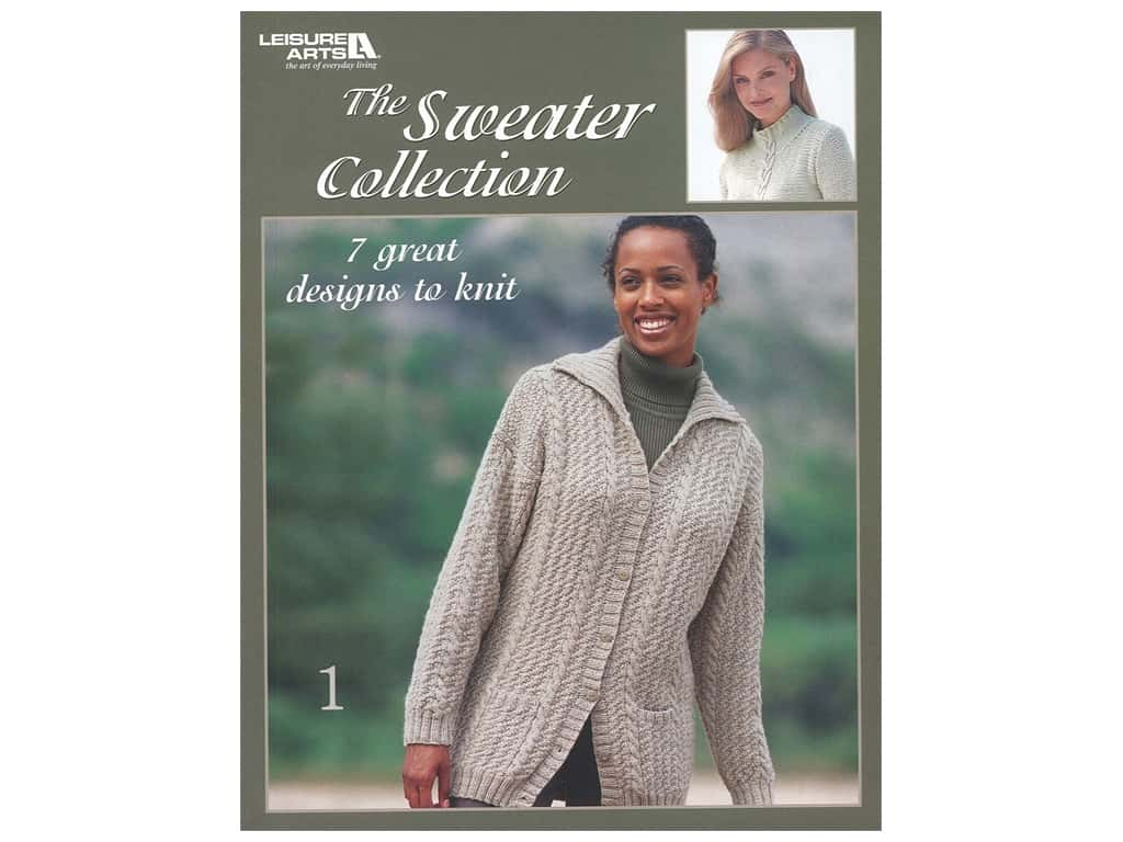 Leisure Arts The Sweater Collection Book