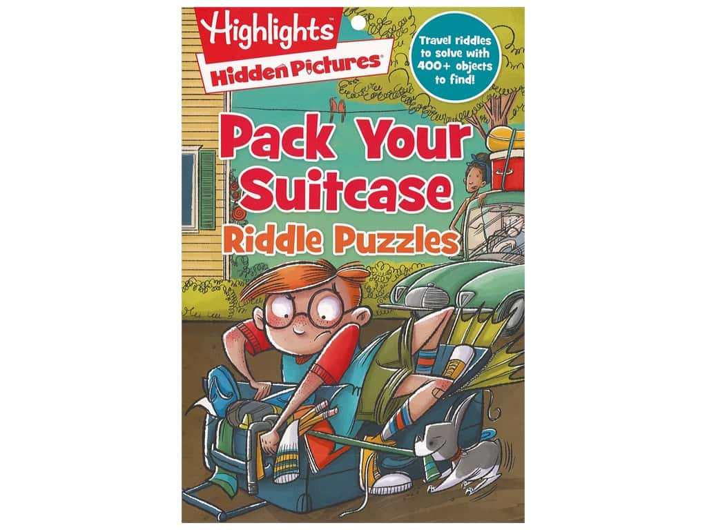 Highlights Pack Your Suitcase Riddle Puzzles Book